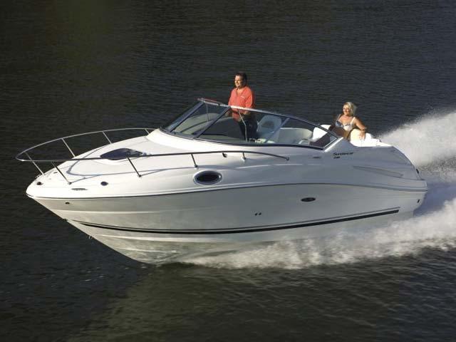 Sea Ray 230 Sundancer   World Sports Boats
