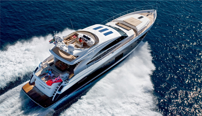 Princess V85. An innovative and exciting model with breathtaking good looks, ...