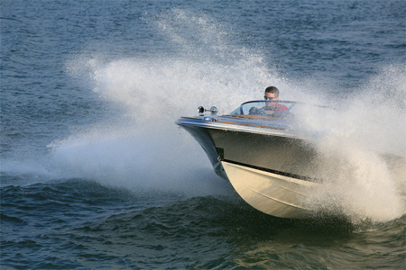 The Silver Bullet made its debut at this year's London Boat Show and turned ...