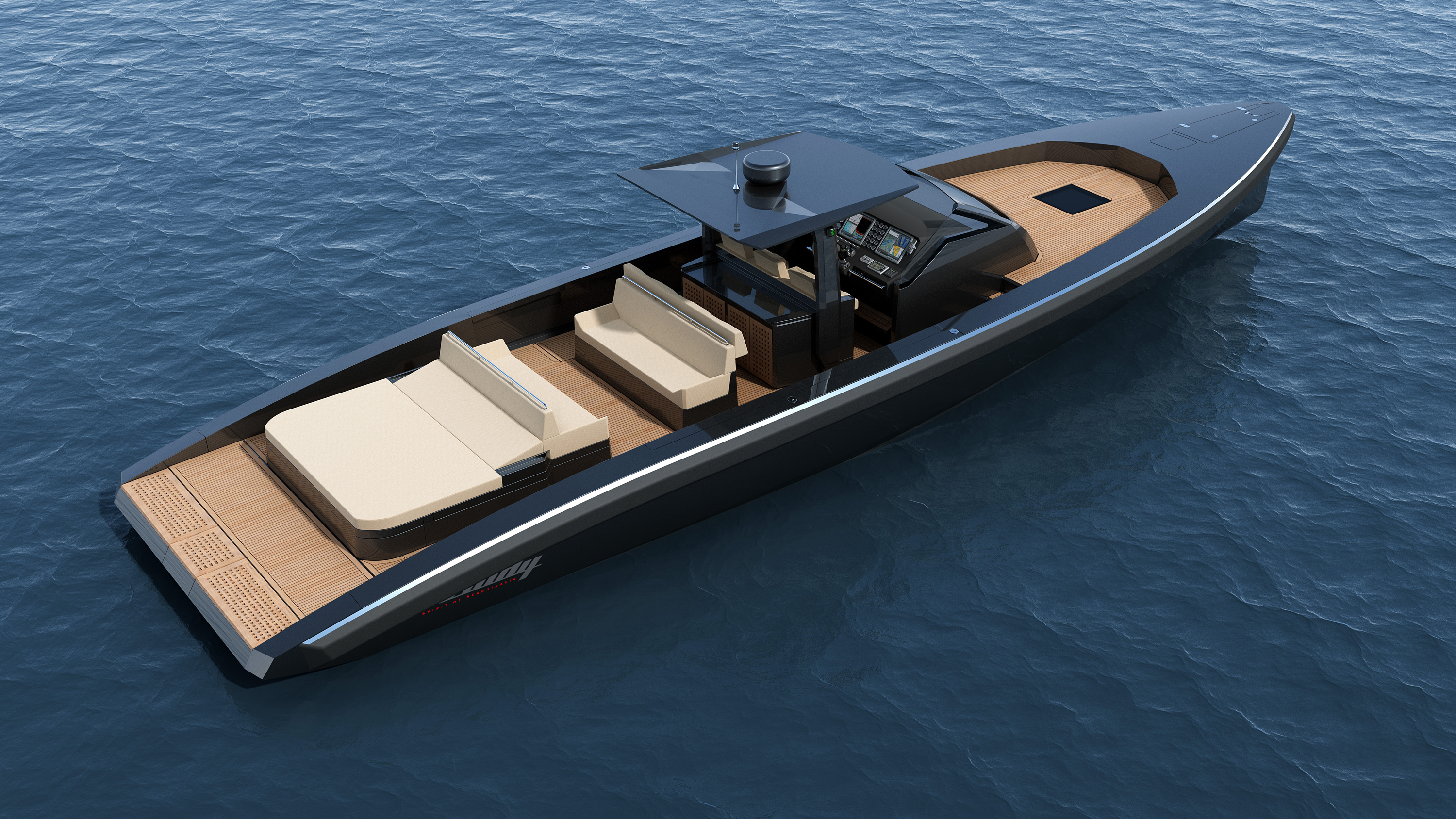 Tender Travel In The Windy T52 World Sports Boats