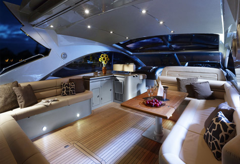 The Predator 60 is fully air conditioned in the cabins with reserve cycle ...