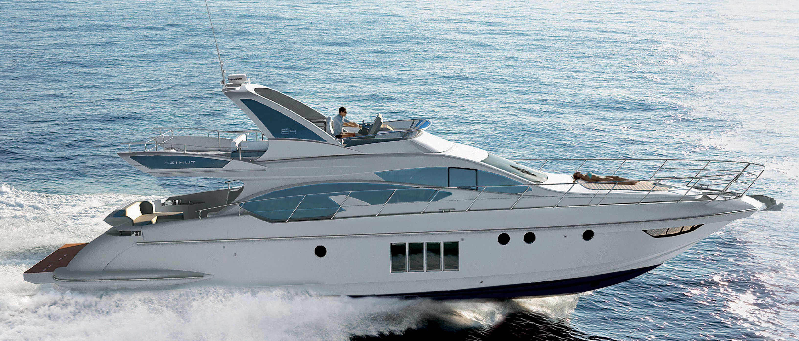 """history of azimut yachts The azimut 80 is shown here azimut yachts is relying on a new """"made in italy""""  marketing strategy that invokes the country's long history of art."""