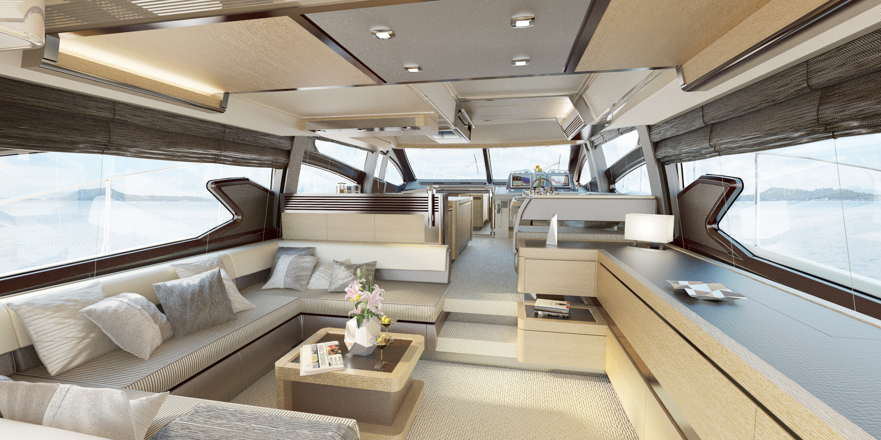 Azimut 64 Interior | World Sports Boats