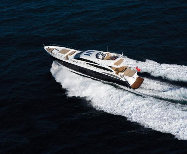 ... V85-S one of the most potent sports yachts on the market. The Princess ...
