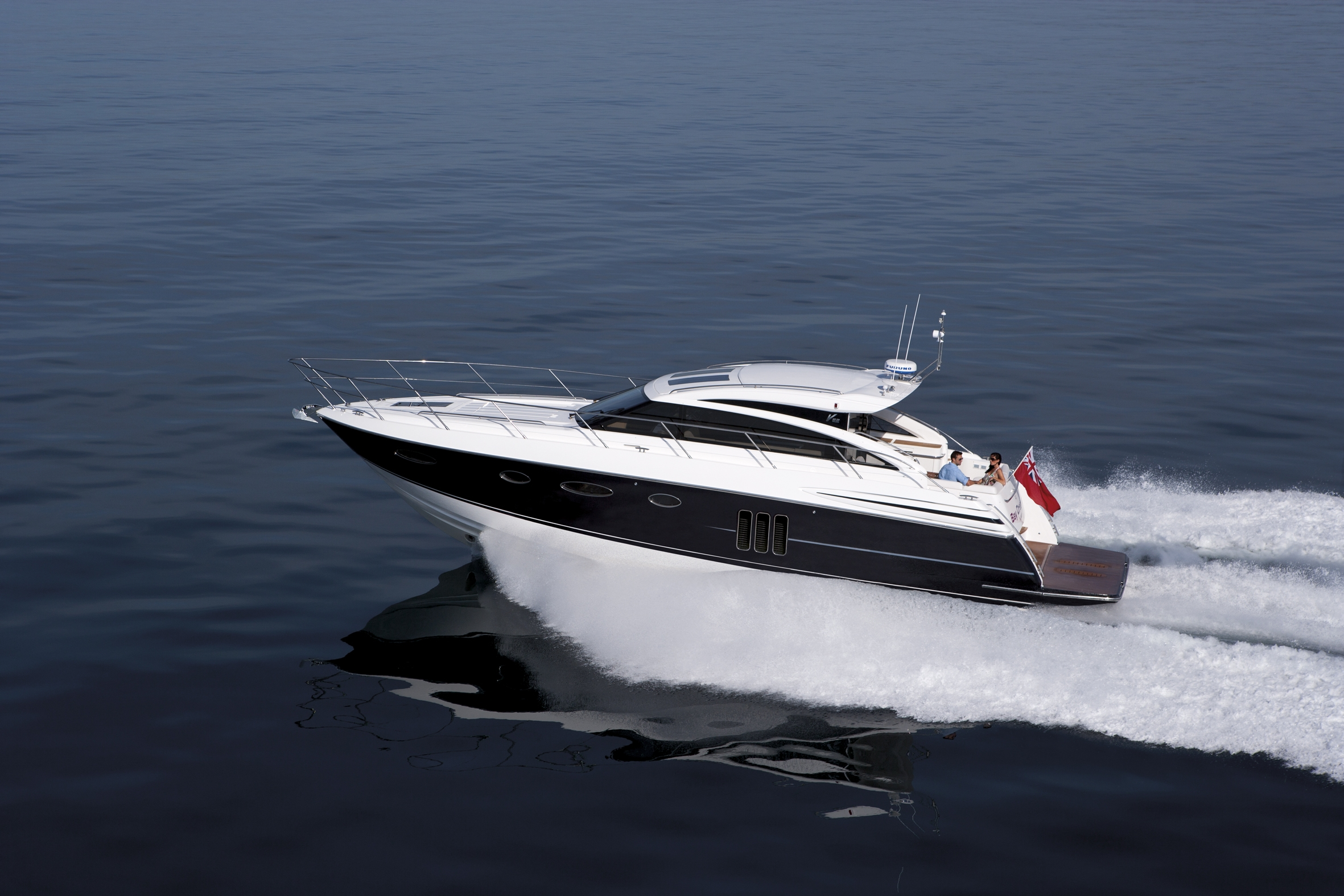 The first V Class sports yacht of this size to be available with an ...