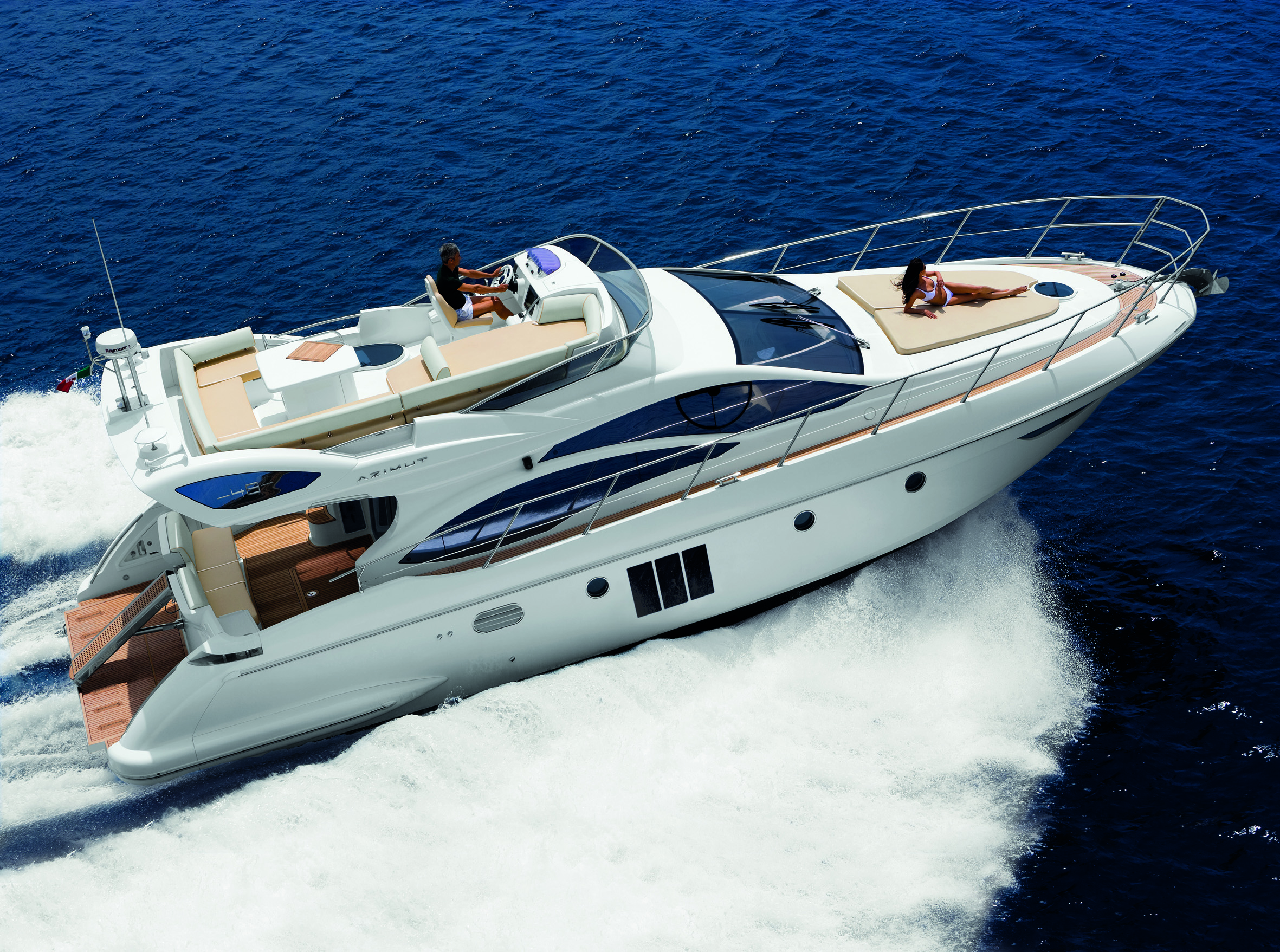 Arise new Azimut 48 to a new dawn in Flybridge Sports Crusiers