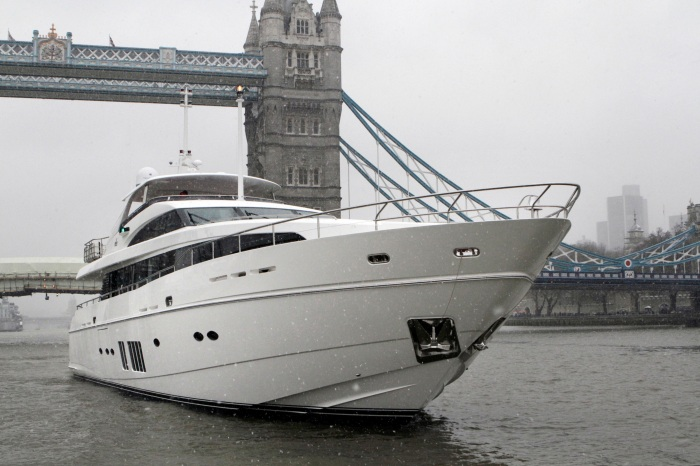 Princess 32 M Class at Tower Bridge London