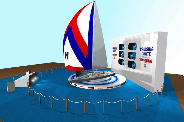 London International Boat Show - Cruising Chute