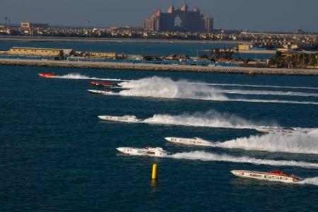 Class 1 offshore UIM Dubai GP 2011