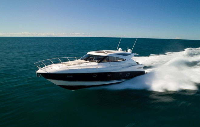 The exciting and much anticipated new Riviera 5800 Sport Yacht, ...