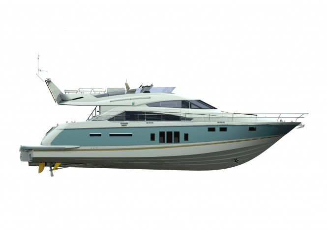 Fast and the furious from the new Fairline 58 Squadron