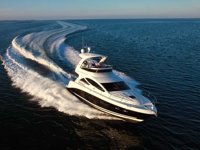 Sea Ray 450 Sedan Sports Flybridge