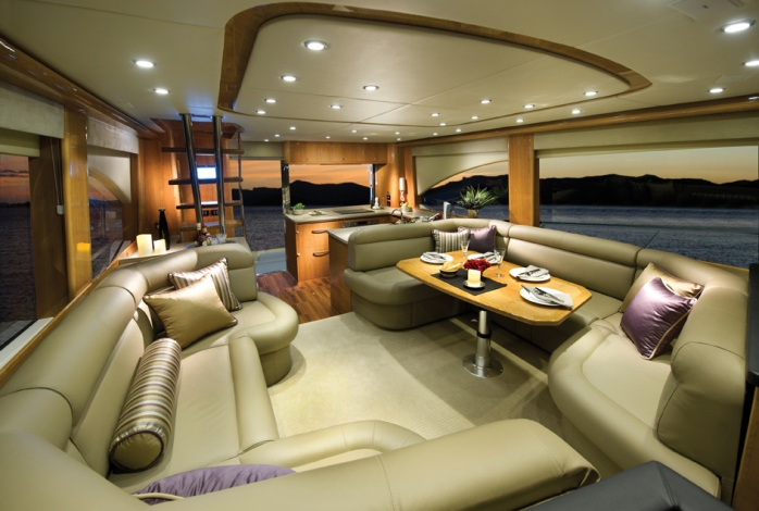 Riviera 53 Enclosed Flybridge