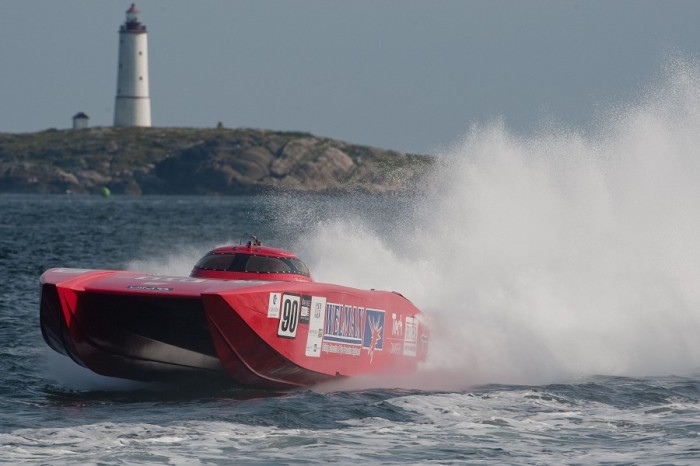 UIM Norwegian Class 1 Offshore power boat Grand Prix 2011