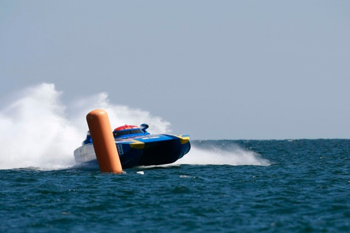 UIM Norwegian Class 1 Offshore power boat Grand Prix 2011