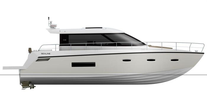 The C48 is a true cruising boat that allows you to escape and explore in ...