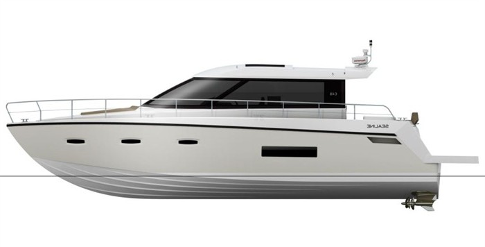 Sealine C48 Coupe. There is also an optional hi-lo platform system capable ...
