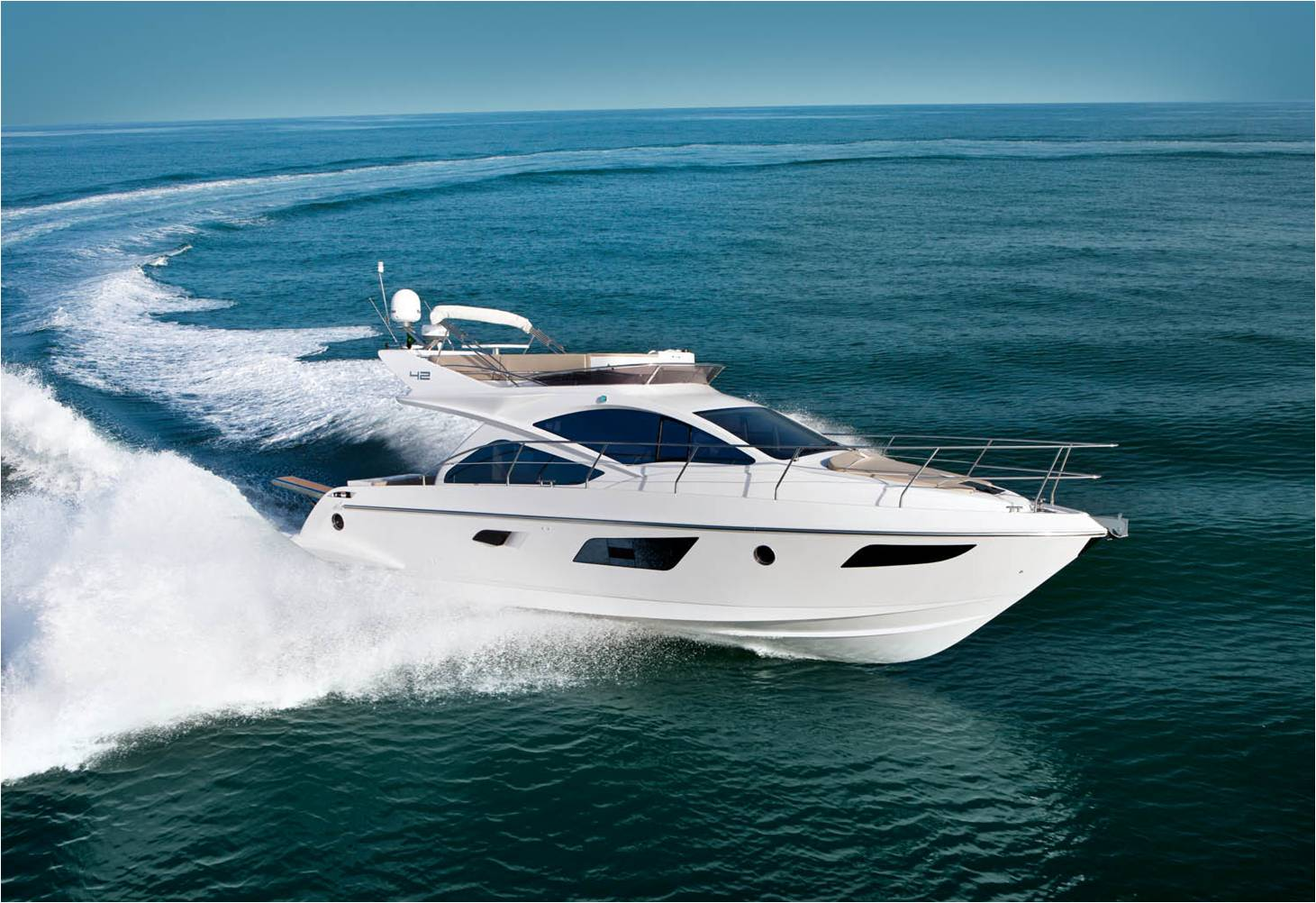 Motor cruisers power boats all boats for Luxury motor yachts for sale