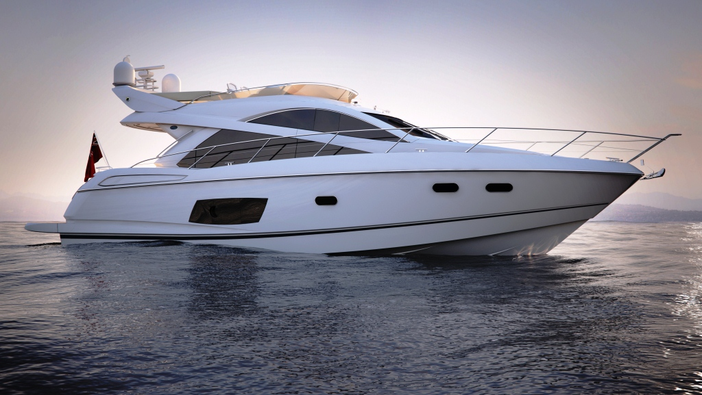 Sunseeker Manhattan 53. Sunseeker (UK) presents two German premiers at this ...