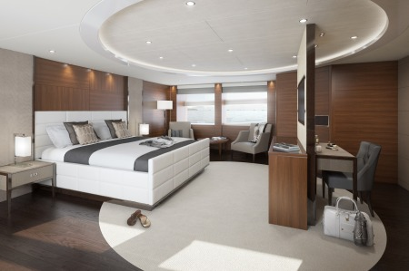 Princess 40m owners suite