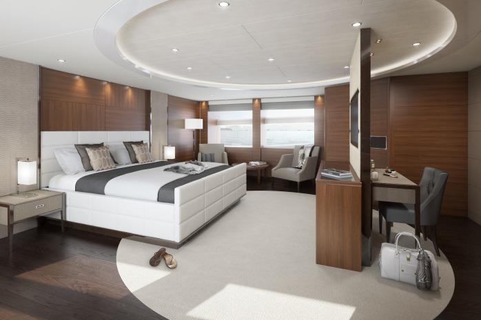 Princess 40m owners suite