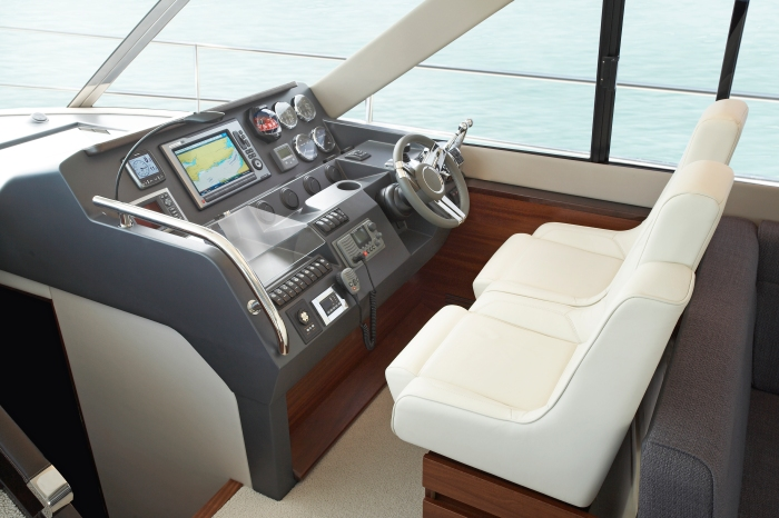 Fairline F48 Helm