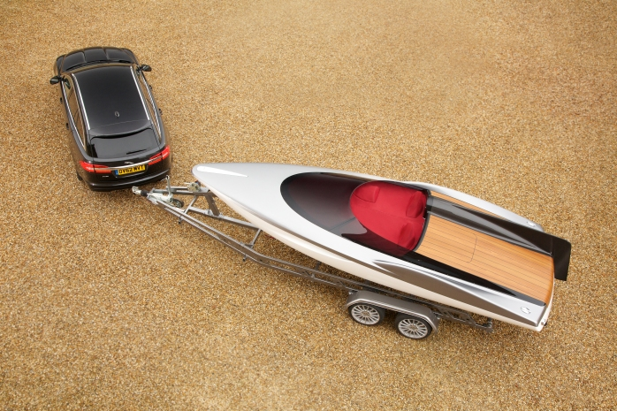 jaguar concept sports boat