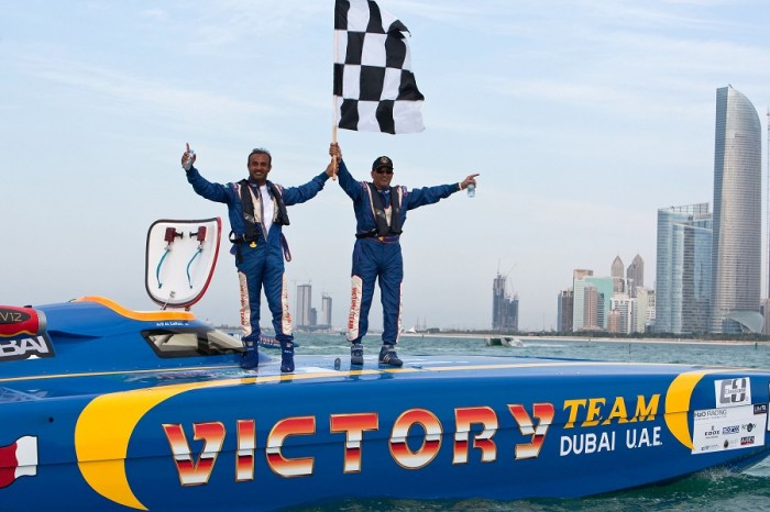 ABU DHABI CLASS 1 UIM OFFSHORE GRAND PRIX 2013