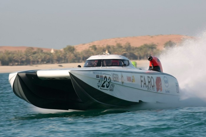 ABU DHABI CLASS 1 UIM OFFSHORE GRAND PRIX 2012