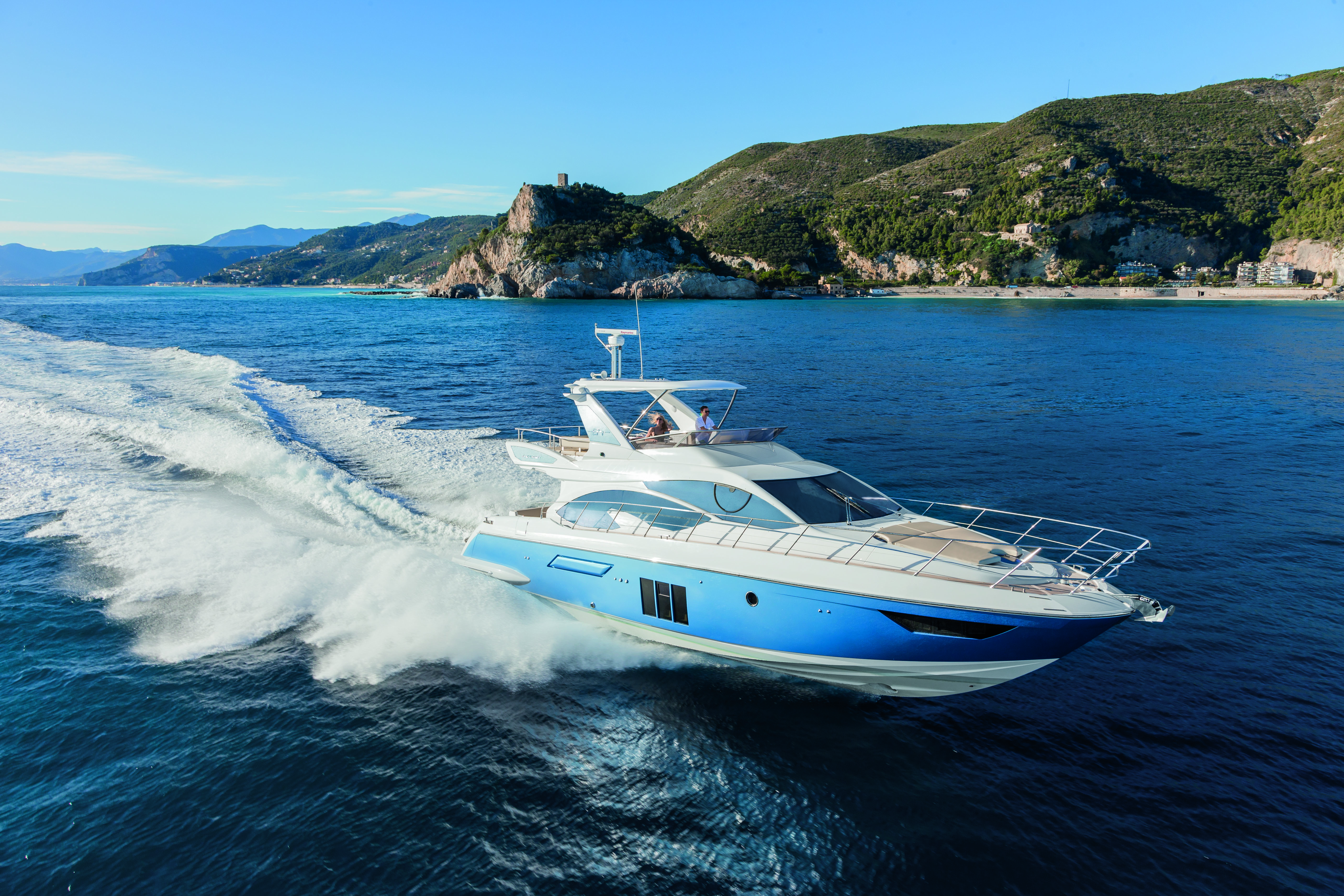 its no hangover in the new azimut 54 world sports boats
