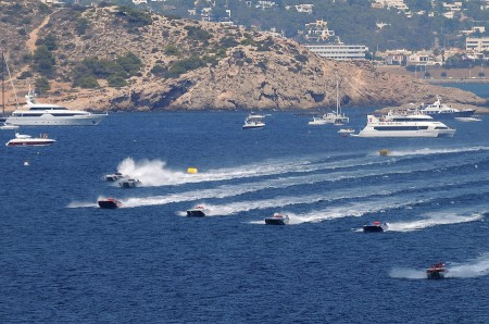 Ibiza Mediterranean Class One Offshore Powerboat GP 2014