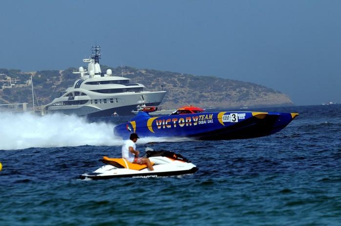 Ibiza Mediterranean Class One Offshore Powerboat GP 2014