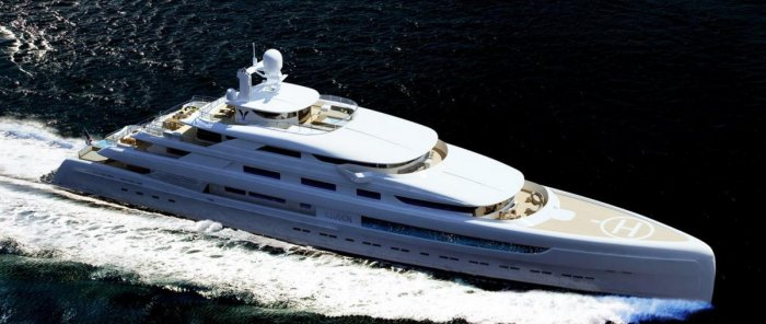 Pride Illusion Mega Yacht