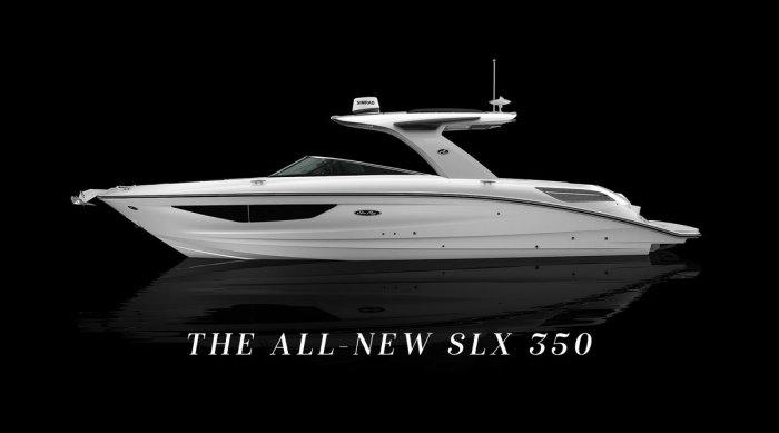 Sea Ray SLX 350 inboard