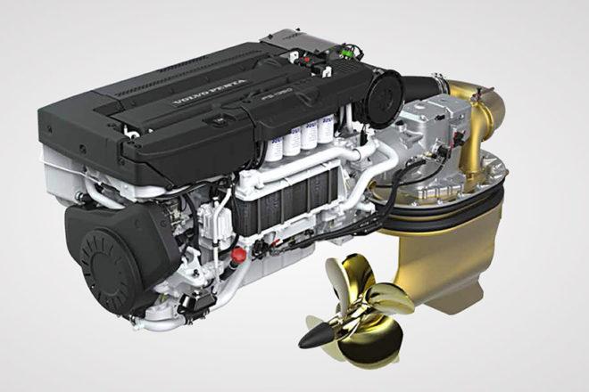 Volvo Penta IPS 1000hp