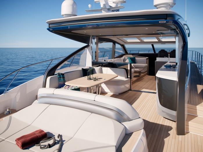 Princess Yachts V Class 55 Saloon