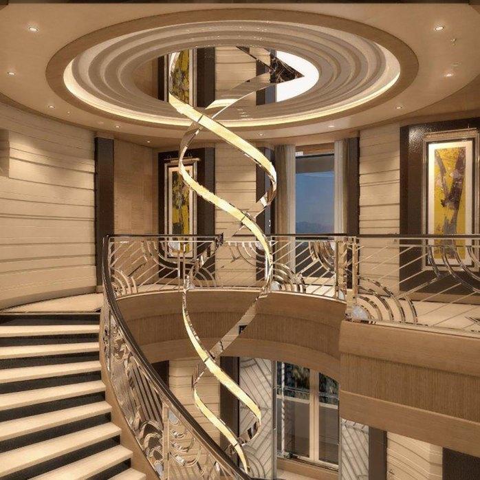 Benetti Lana staircase