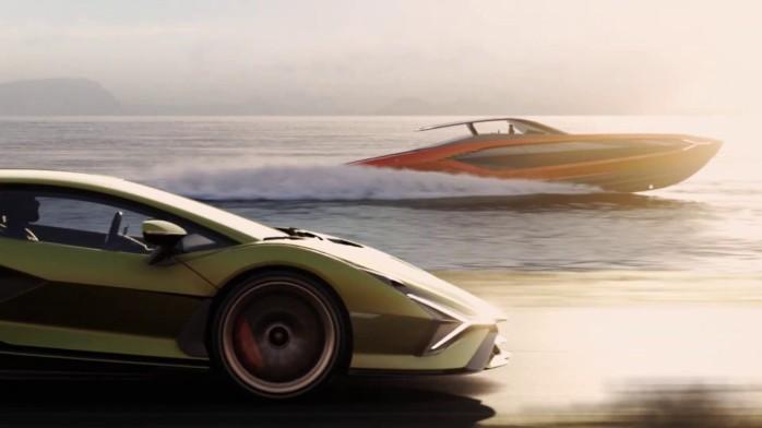 Lamborghini 63 yacht