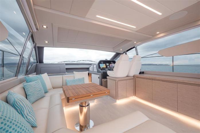 Filippetti Sport 55 interior