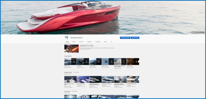 World Sports Boats YouTube