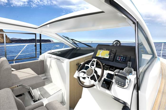 Sealine c335 and c335v Interior