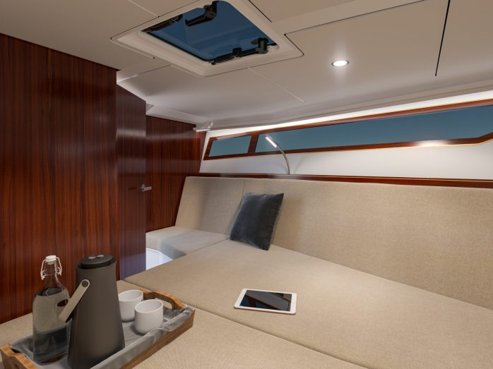 X-Yachts X-Power 33C Interior