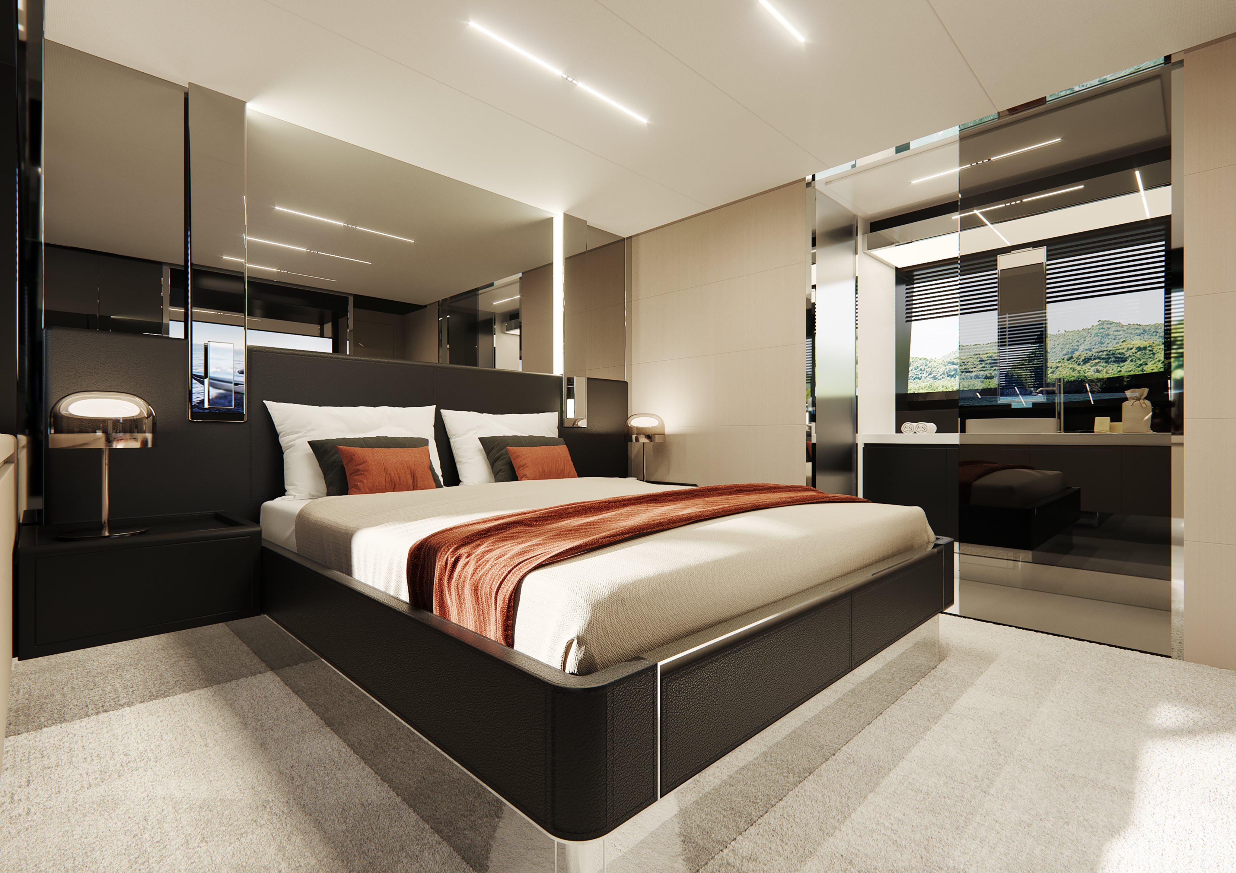 Riva 76 Perseo Super Project Bedroom
