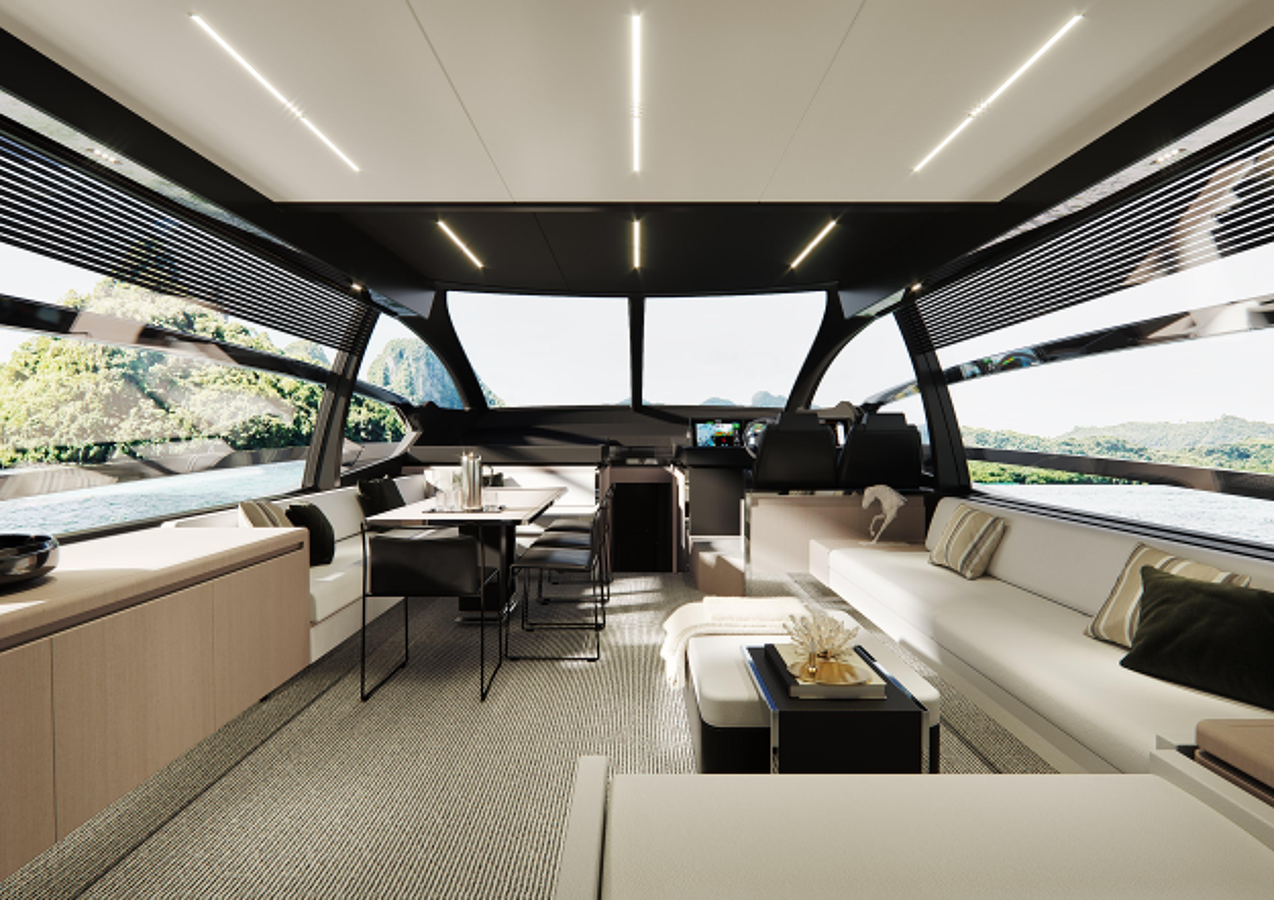 Riva 76 Perseo Super Project Interior
