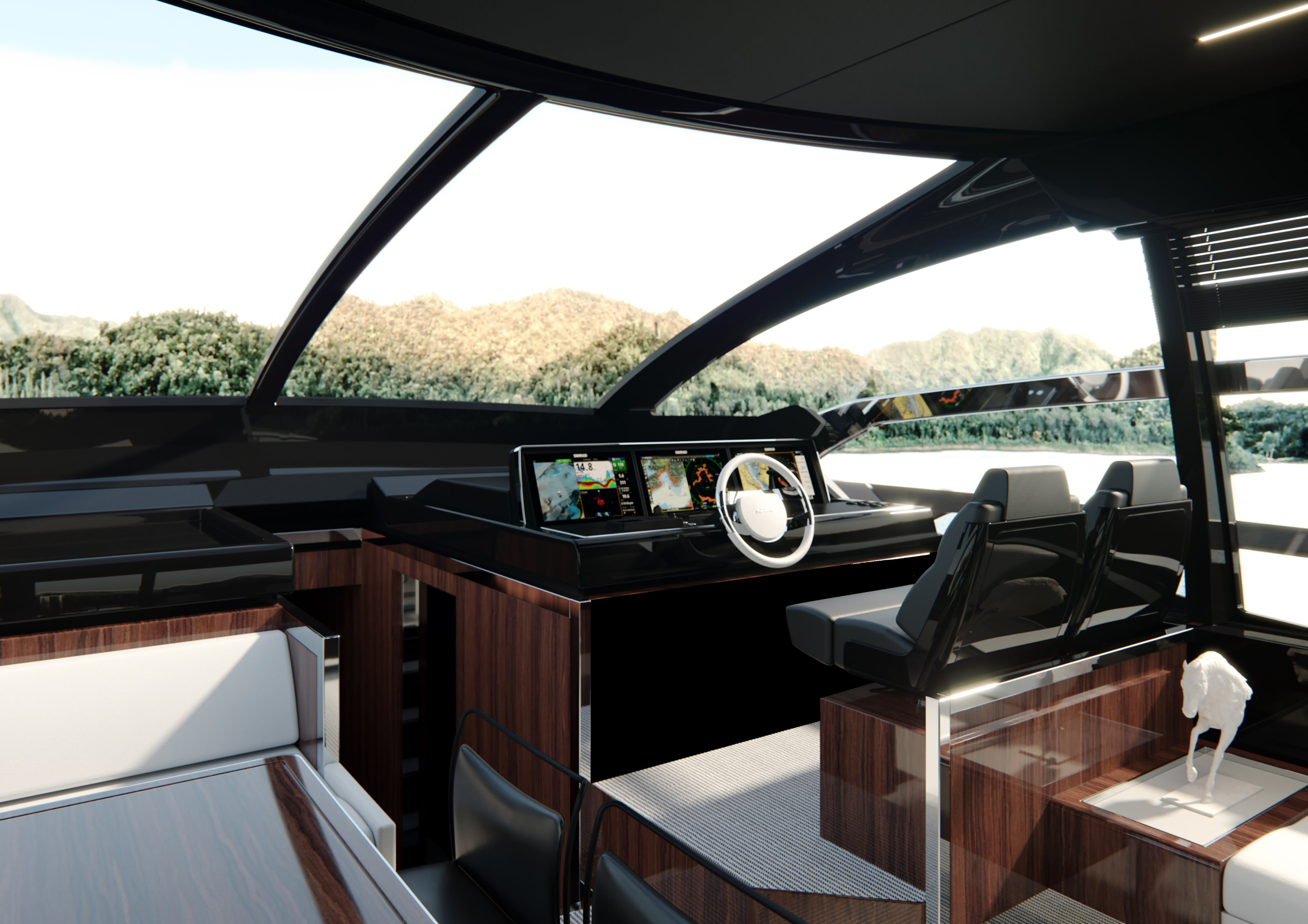 Riva 76 Perseo Super Project Helm