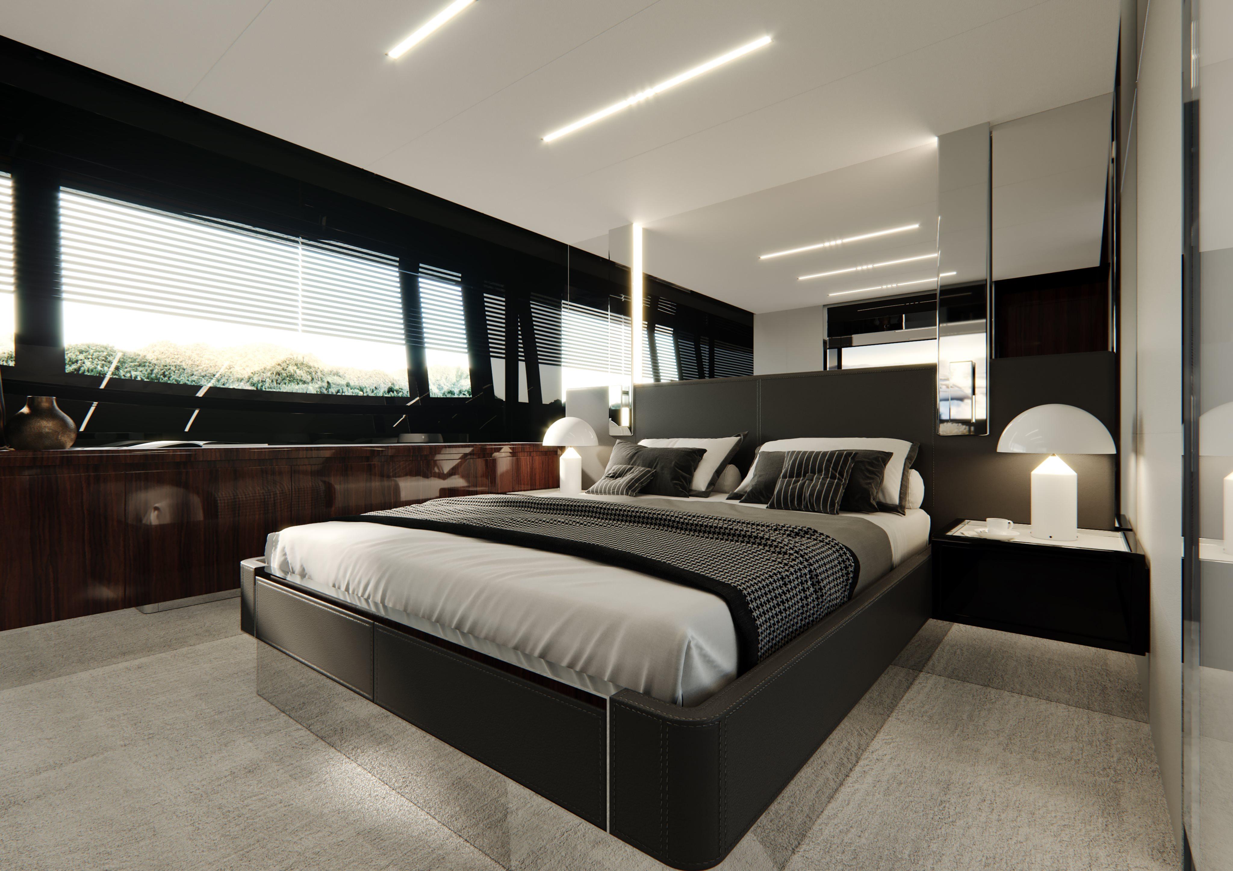 Riva 76 Perseo Super Project Master Cabin