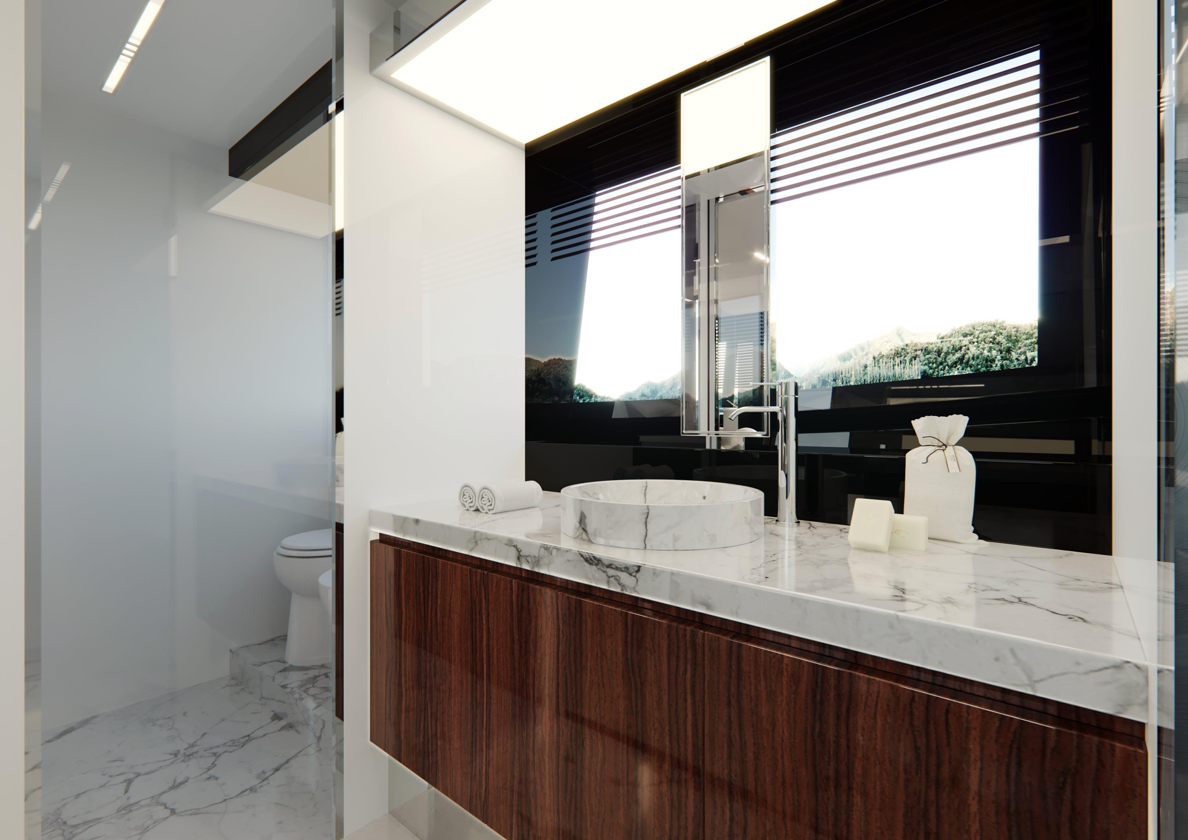 Riva 76 Perseo Super Project Bathroom